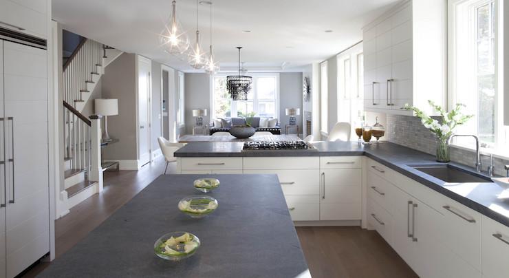 Concrete Countertops Transitional Kitchen Milton Development
