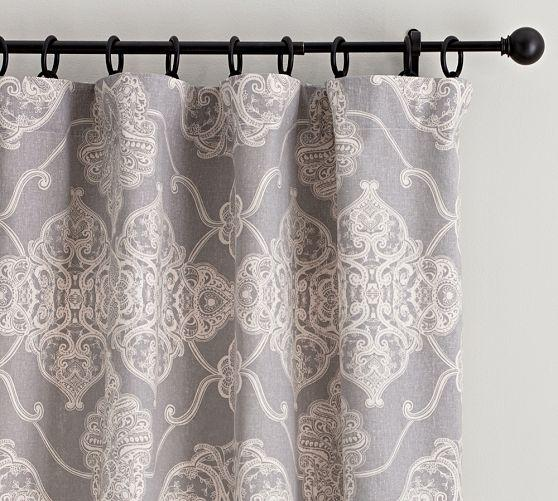 large curtain curtains upholstery grey en sg il medallion listing scale fabric