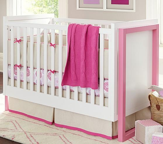 Kate nursery bedding collection for baby girl serena lily for Serena and lily baby girl bedding
