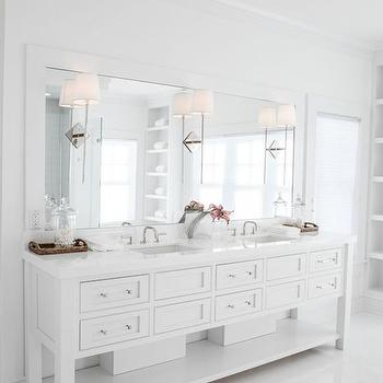 All White Bathroom all white bathrooms design ideas