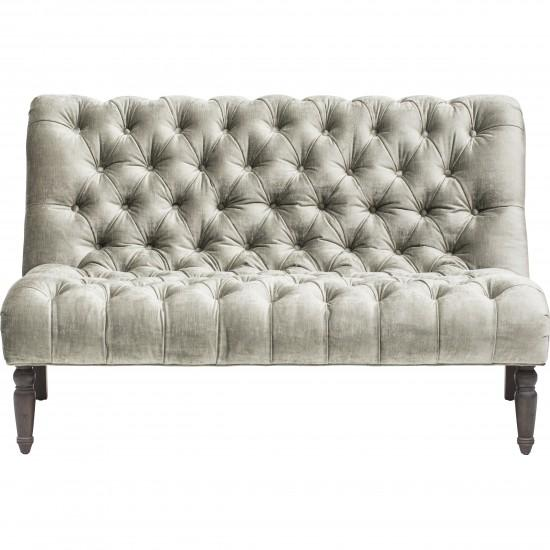 Outstanding Caitlin Dove Grey Armless Loveseat Short Links Chair Design For Home Short Linksinfo