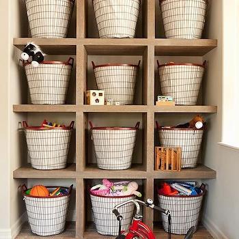 Pink Toy Storage Bins Design Ideas
