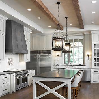 Mystic Gray Granite Countertops, Transitional, kitchen, Sherwin Williams Canvas Tan, Markalunas Architecture Group