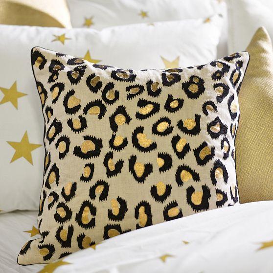 new fur leopard furoutlet print a pillow