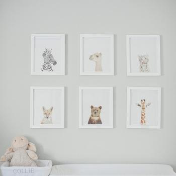 Art Over Changing Table, Transitional, nursery, Style Me Pretty
