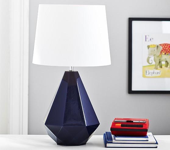 Weston Complete Blue Lamp