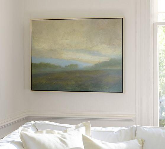 September Grey Giclee Canvas