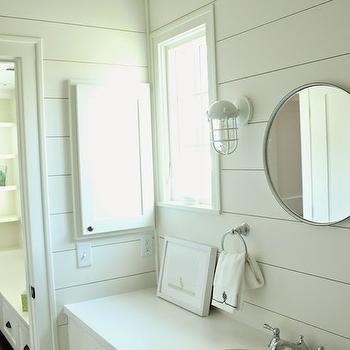 White Cottage Bathrooms, Cottage, bathroom, Belmont Design Group