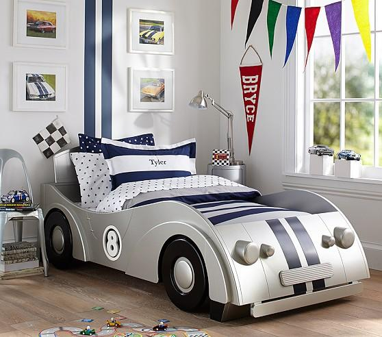 Bedroom Decor Nz Boy Bedroom Cars Brown Leather Bed Bedroom Ideas Small 1 Bedroom Apartment Floor Plans: Roadster Silver Twin Bed