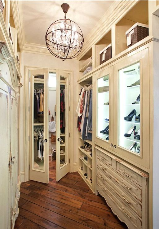 Glass Front Armoire Transitional Bedroom Nightingale