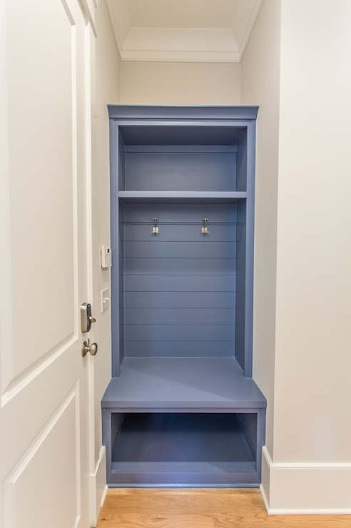 Blue Foyer Cabinet : Blue mudroom cabinets transitional laundry room
