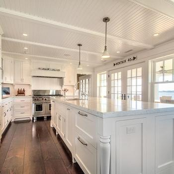 White Cottage Kitchen, Cottage, kitchen, Hamptons Habitat