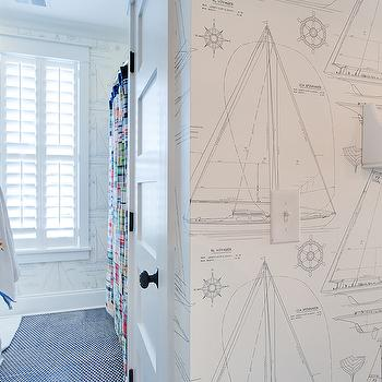 Nautical Wallpaper Design Ideas
