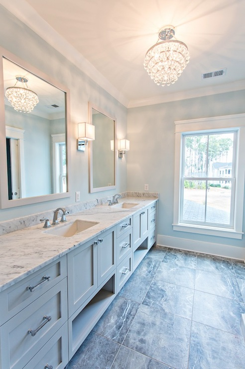 Long Bathroom Ideas Transitional Bathroom Sherwin