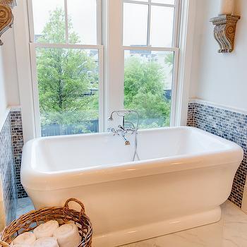 Bathtub Nook, Transitional, bathroom, JacksonBuilt Custom Homes