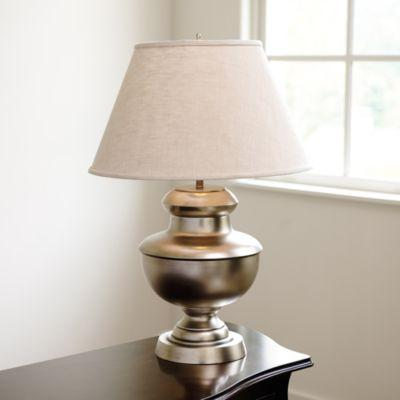 Exceptional Carlisle Urn Pewter Table Lamp