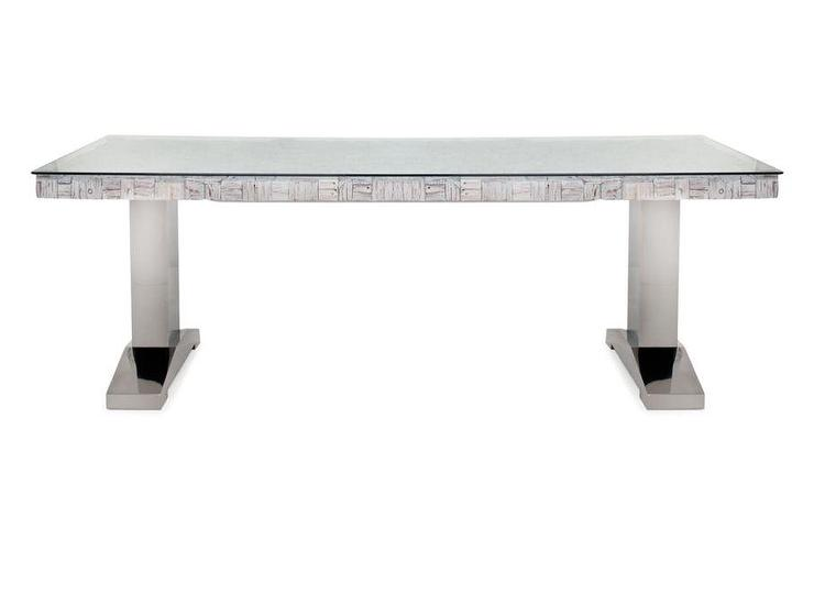 aruba silver dining table - Silver Dining Table