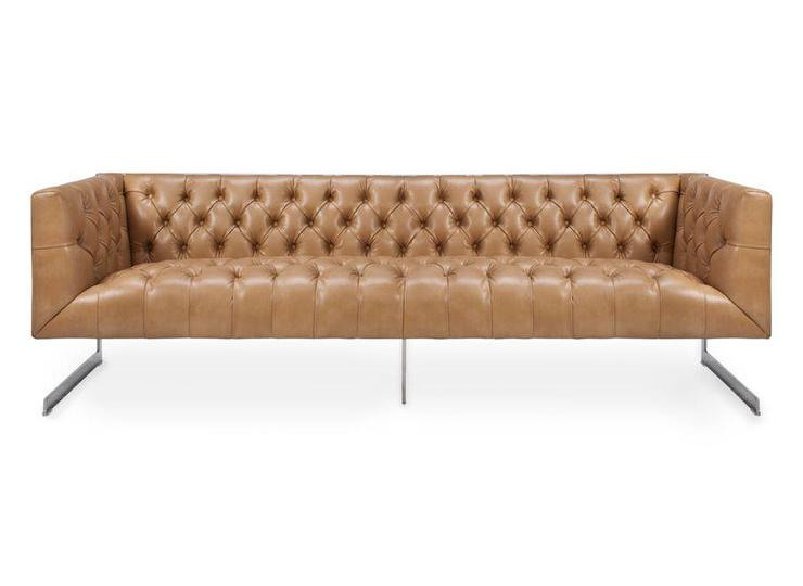 Chester Leather Sofa Dwellstudio