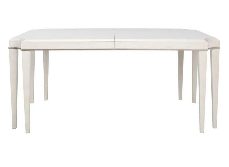 Addison Rectangular White Dining Table