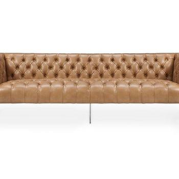 Brown Leather Sofa Products Bookmarks Design
