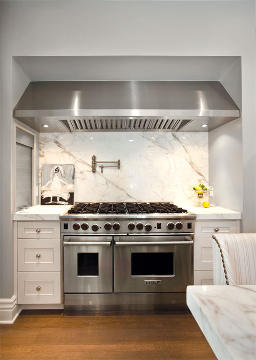 Stove Alcove Transitional Kitchen Elizabeth Kimberly