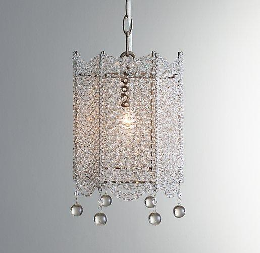 Harlow Clear Crystal Chandelier
