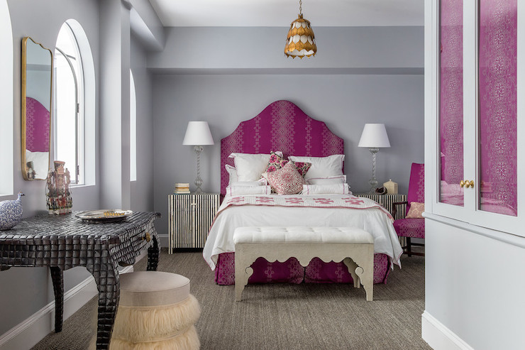 Pavilion Gray Contemporary Bedroom Farrow And Ball