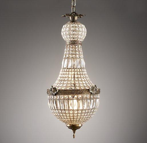 bulb single sparkling led crystal large wide p pendant light