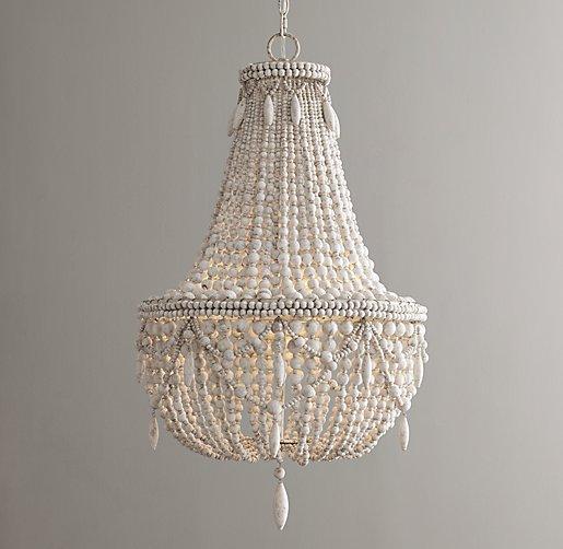 anselme ivory chandelier