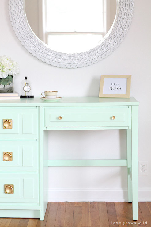 Mint Green Paint Transitional Den Library Office