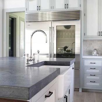 Two Tone Cabinet Doors Design Ideas