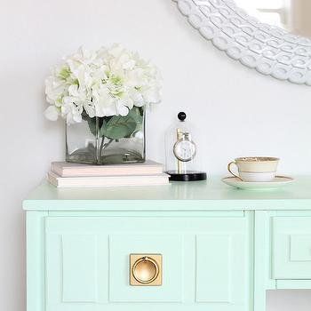 Mint Green Paint mint green paint - transitional - den/library/office - olympic