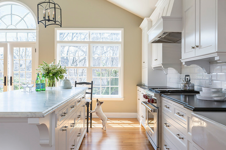 Kitchen Island Corbels Transitional Kitchen Casa