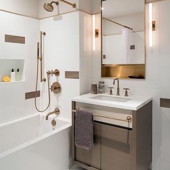 Towel Bar On Vanity