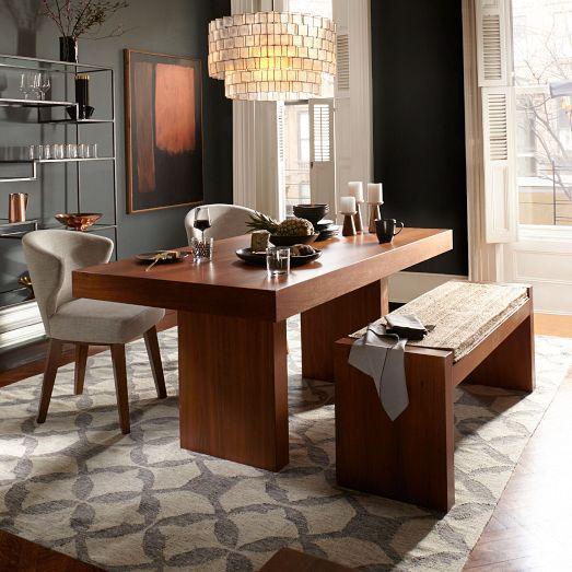 Terra Brown Dining Table - West elm terra dining table