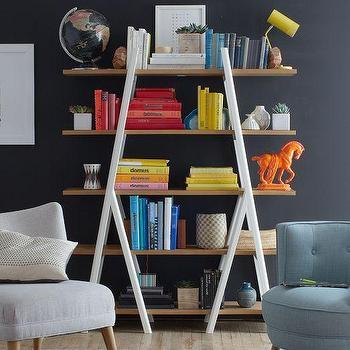 Ladder Bookshelf, West Elm