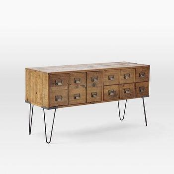 Librarian Media Console, West Elm