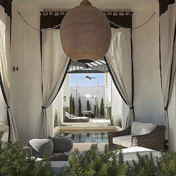 Outdoor Curtains, Mediterranean, deck/patio, Alys Beach