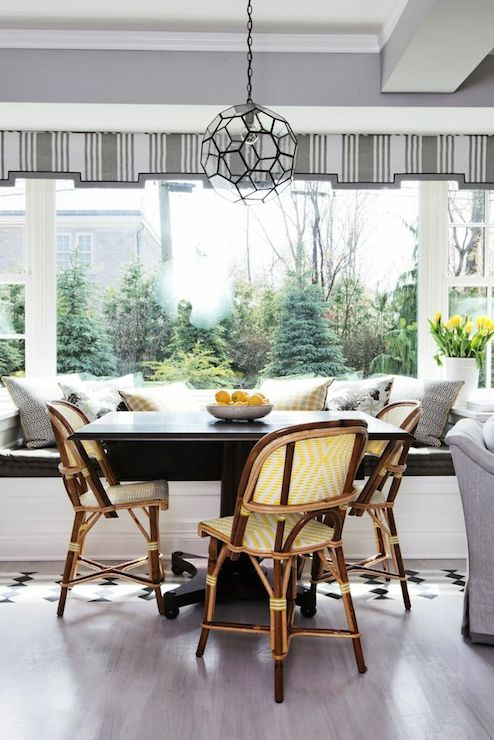 Breakfast Room Ideas Transitional Dining Room