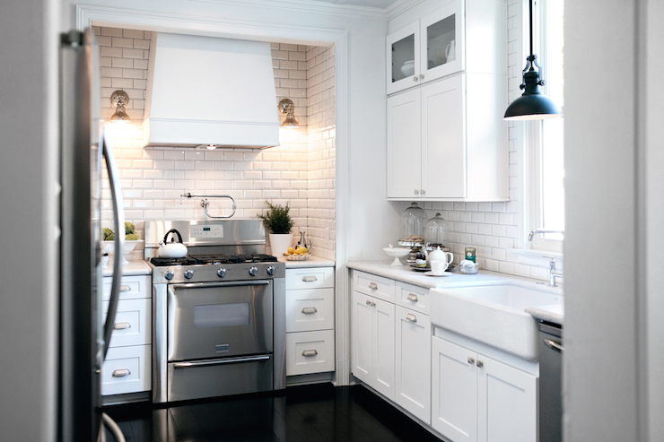 Stove Alcove Transitional Kitchen Lukas Machnik Design