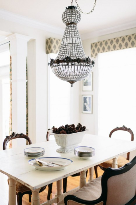 View Full Size Cottage Dining Room Features French Empire