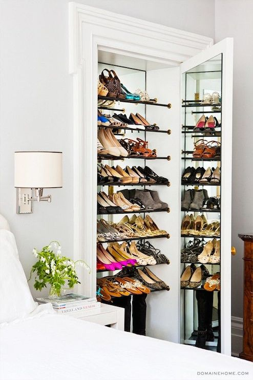 Corner Shoe Shelf Design Ideas