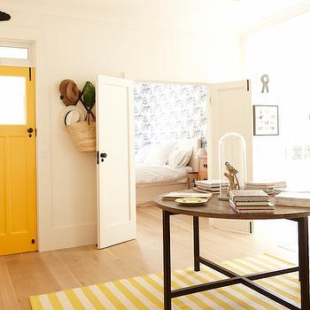 Yellow Door, Eclectic, entrance/foyer, ICI Dulux Gold Rush, The Grace Tales