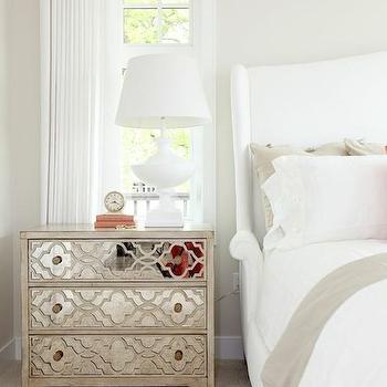 Fretwork Chest, Transitional, bedroom, HGTV