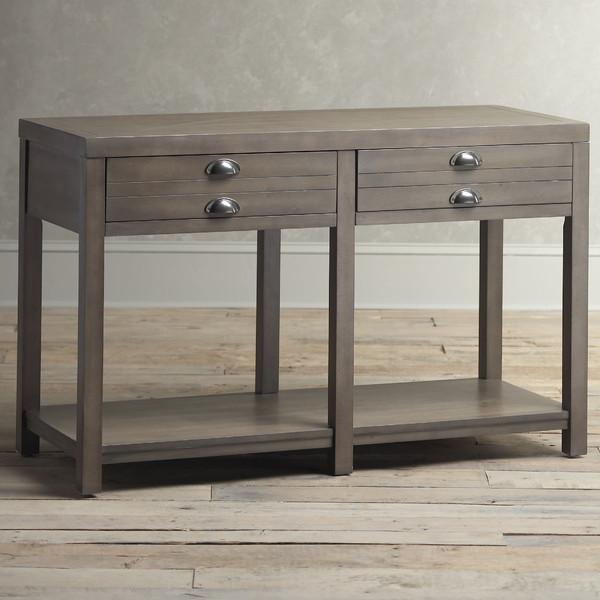 Birch Lane Stowe Grey Console Table