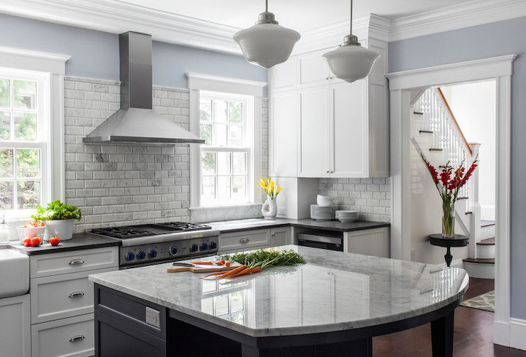 kitchen benjamin moore marina gray fiddlehead design group