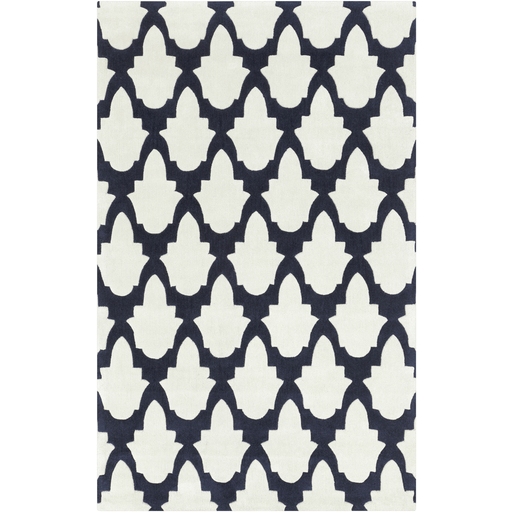 Hand Knotted Mirage Grey Viscose Rug 7 6 X 9 6