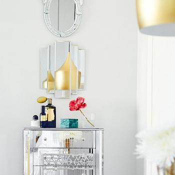 Mirrored Dresser, Eclectic, bedroom, Domaine Home