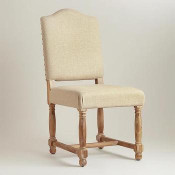 Linen Maddox Chairs, Set of 2, World Market