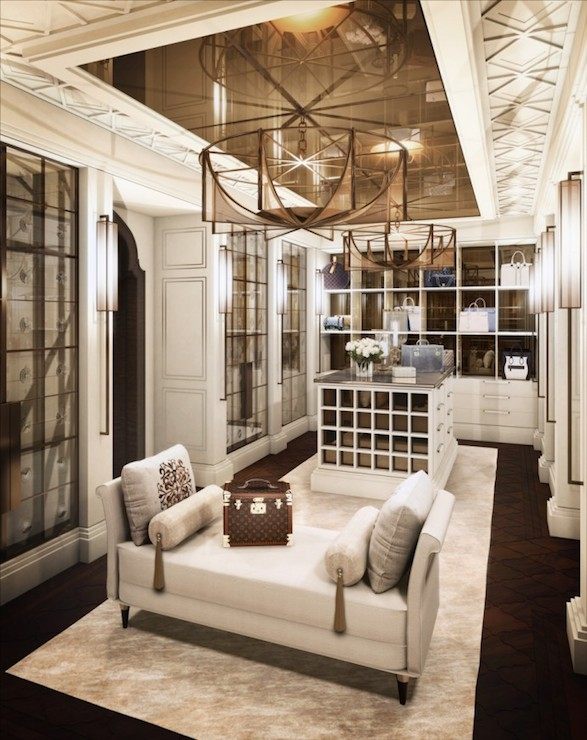 Luxurious Closets Transitional Closet